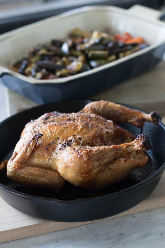 Salt and Pepper Roast Chicken - Best Roast Chicken